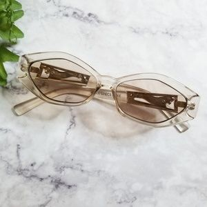 Le Specs | Luxe Petit Panthere Clear Sunglasses